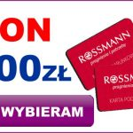 Darmowy Bon o wartości 500 zł Rossmann