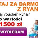 Bon Ryanair - Bon 1500 PLN