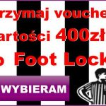 voucher 400 zł do Foot Locker