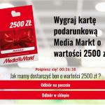 Karta podarunkowa Media Market 2500 zł