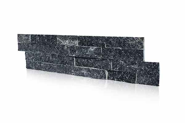 Kamień naturalny grafitowy - stylowe wnętrze z nutką natury.