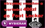 Odbierz voucher 400 zł do Foot Locker